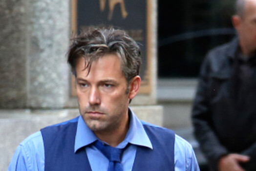 Ben Affleck Bruce Wayne Set Photo