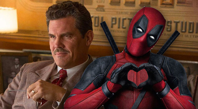Deadpool 2: Josh Brolin si fa una foto con un mini Deadpool