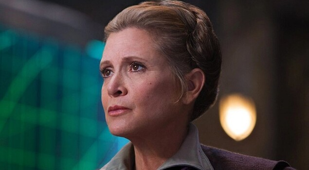 Star Wars: Gli ultimi Jedi, rivelate le ultime parole di Leia a Chewbecca