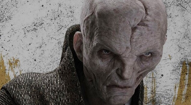 Andy Serkis parla di Snoke in Star Wars: Gli Ultimi Jedi