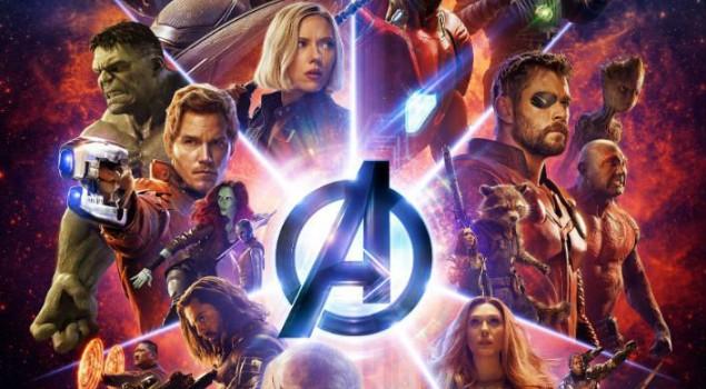 Aspettando Avengers: Infinity War, una serata al Max