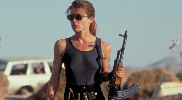 Terminator 6: Linda Hamilton e Mackenzie Davies sul set