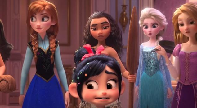 Ralph Spaccatutto 2: nel nuovo full trailer anche le Principesse Disney
