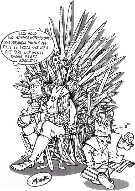 Contest disegna il tuo re e vinci i gadget del trono di for Disegna il tuo giardino