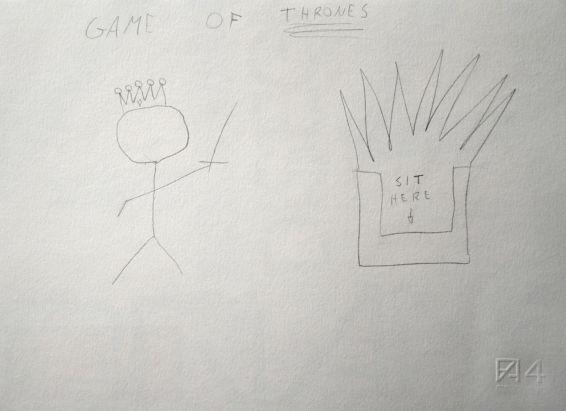 Contest disegna il tuo re e vinci i gadget del trono di spade la photogallery con tutti i - Disegna il tuo bagno ...