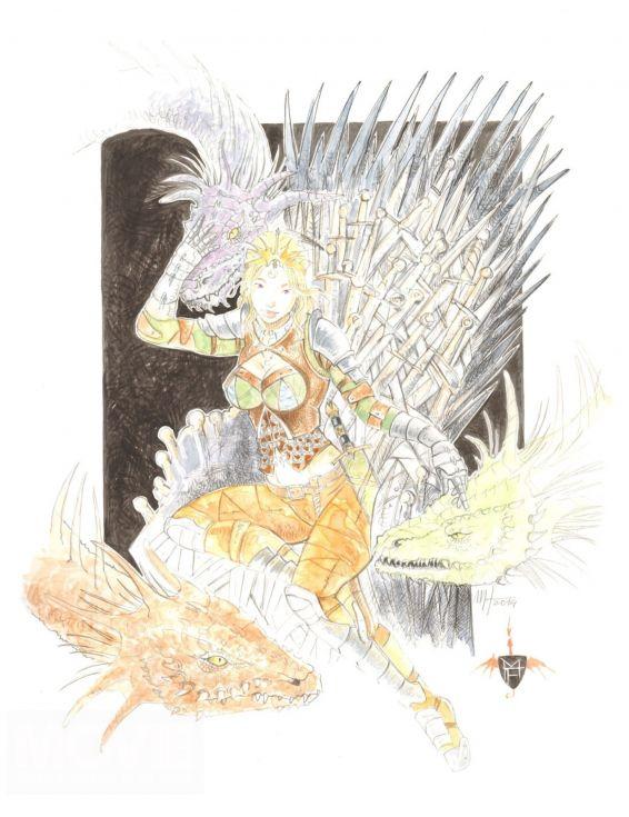 Contest disegna il tuo re e vinci i gadget del trono di spade ecco le 20 opere vincitrici - Disegna il tuo giardino ...