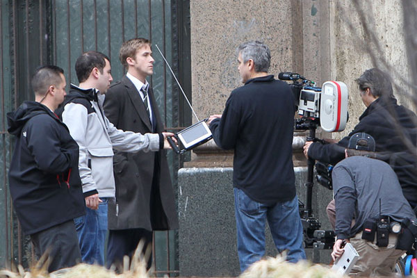 Ides Of March News: George Clooney E Ryan Gosling Sul Set Di The Ides Of March