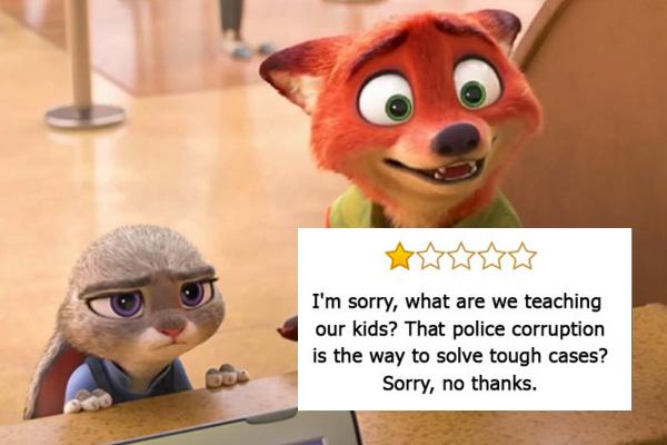 Zootropolis, Oscar come Miglior film d'animazione - «Mi spiace, ma cosa insegniamo ai nostri figli? Che la corruzione della polizia ...