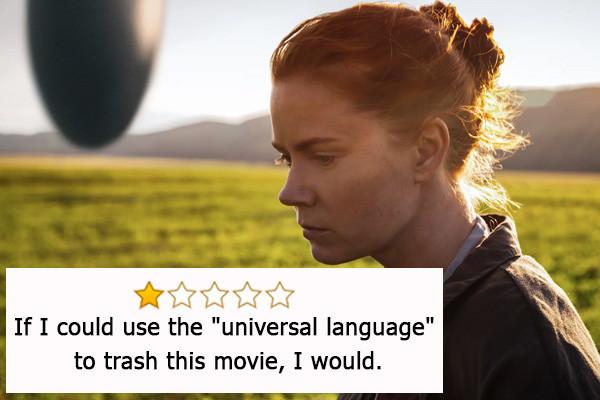 """Arrival, Oscar per il Miglior Montaggio Sonoro - «Se potessi usare il """"linguaggio universale"""" per stroncare questo film, lo far..."""