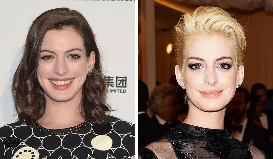 Durante le riprese de Les Miserables Anne Hathaway ha tagliato i suoi lunghi capelli castani e così, mentre crescevano, ne ha approfittat...