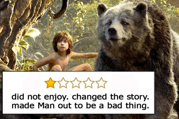 Il Libro della Giungla, Oscar per i migliori effetti visivi - «Non mi è piaciuto. Cambiata la storia. Rende tutti gli uomini cattivi».