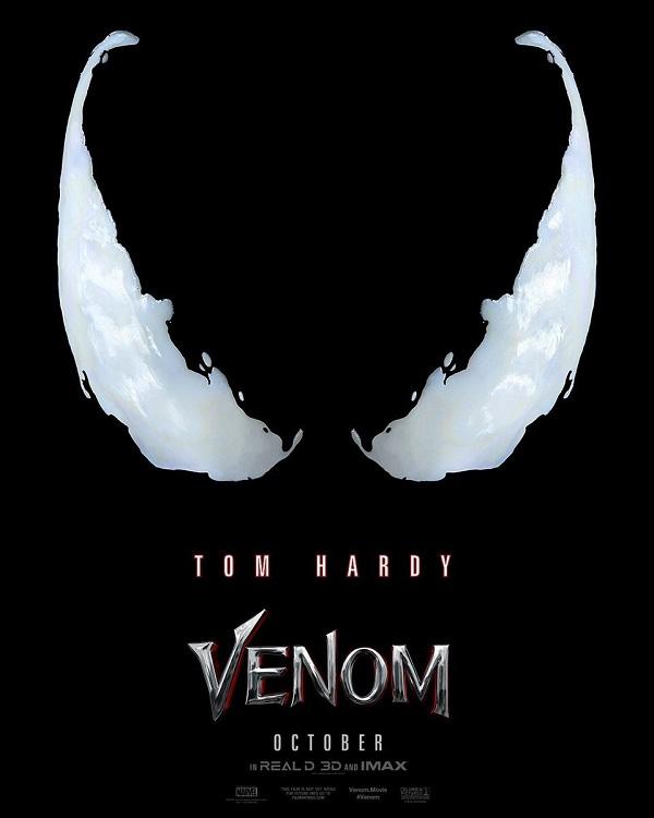 Venom: il primo trailer ufficiale del film con Tom Hardy