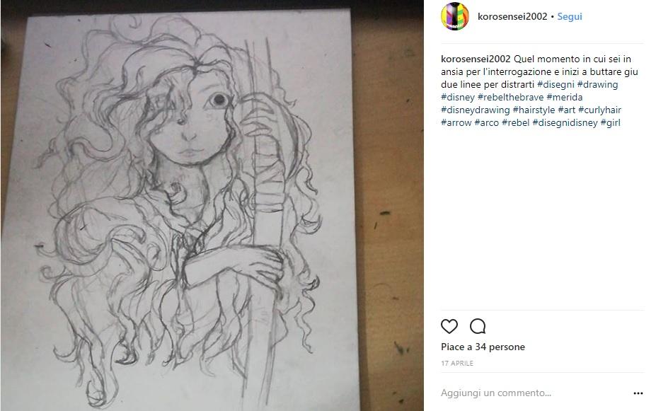 Disegni Disney Ecco Delle Opere Darte Pubblicate Su Instagram