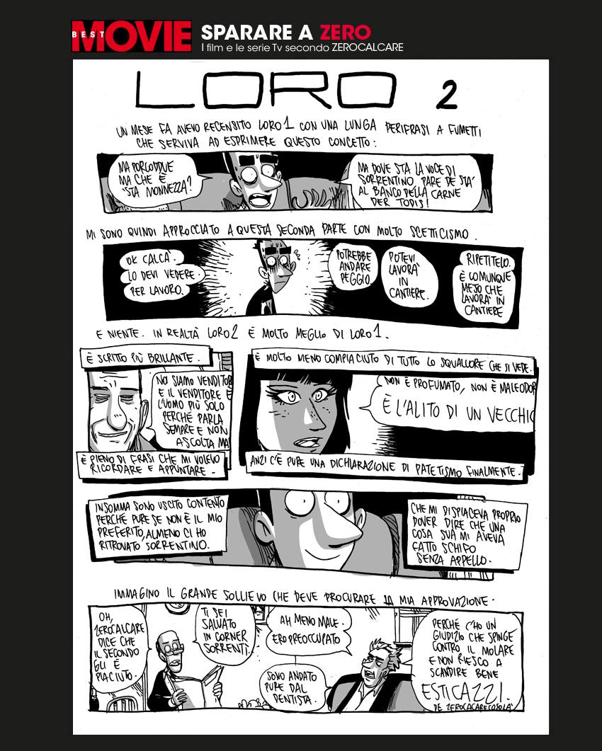 Zerocalcare, la recensione di Loro 2