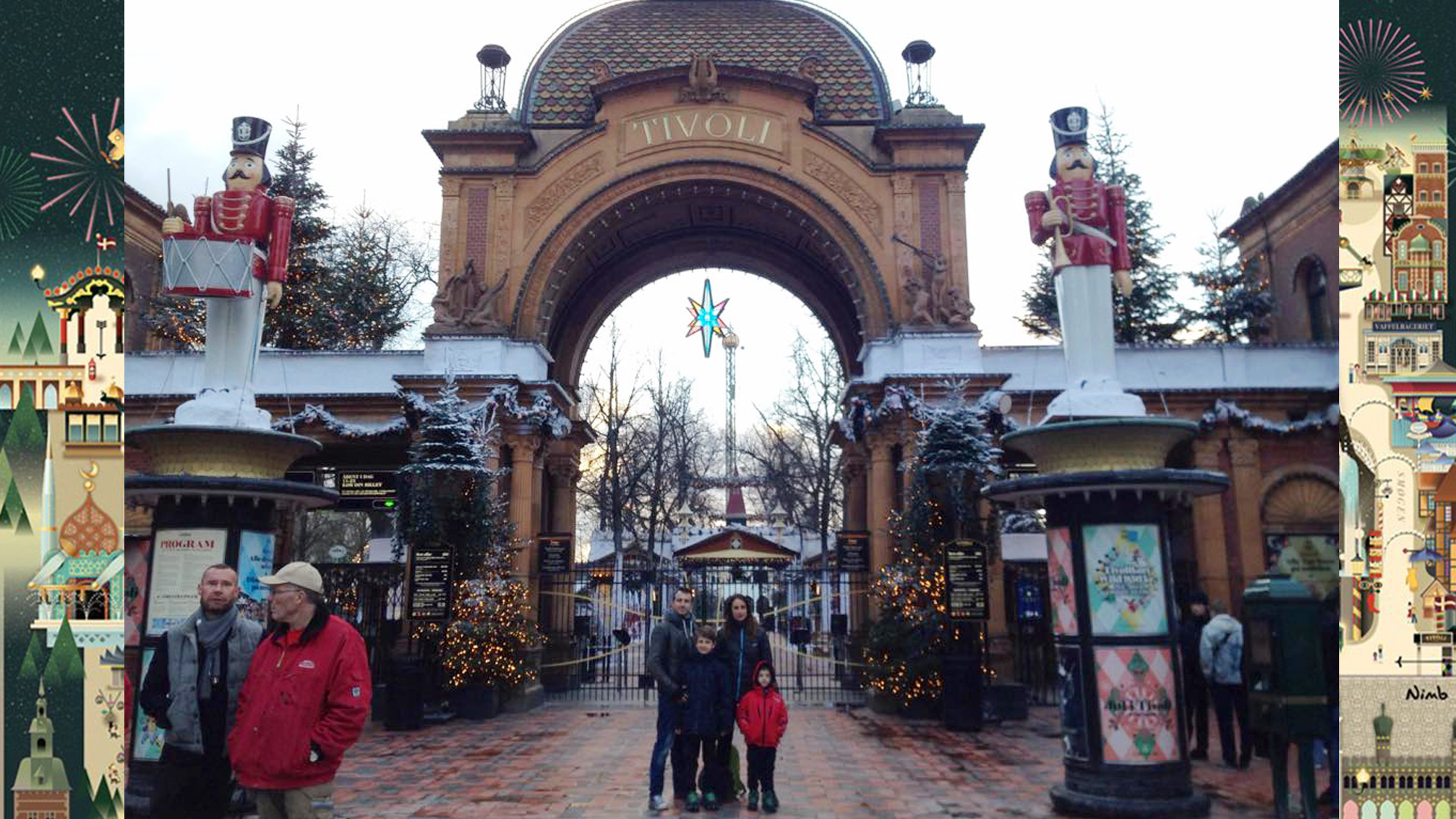 Copenhagen in famiglia come visitare i giardini di tivoli con i bambini