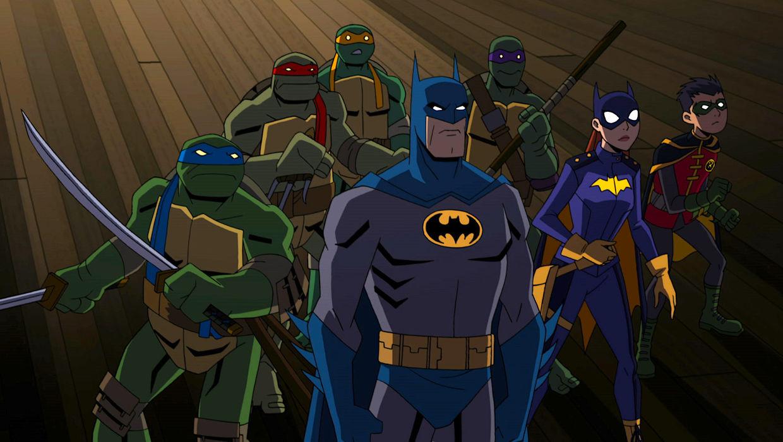 Batman e le tartarughe ninja in arrivo il film d animazione crossover