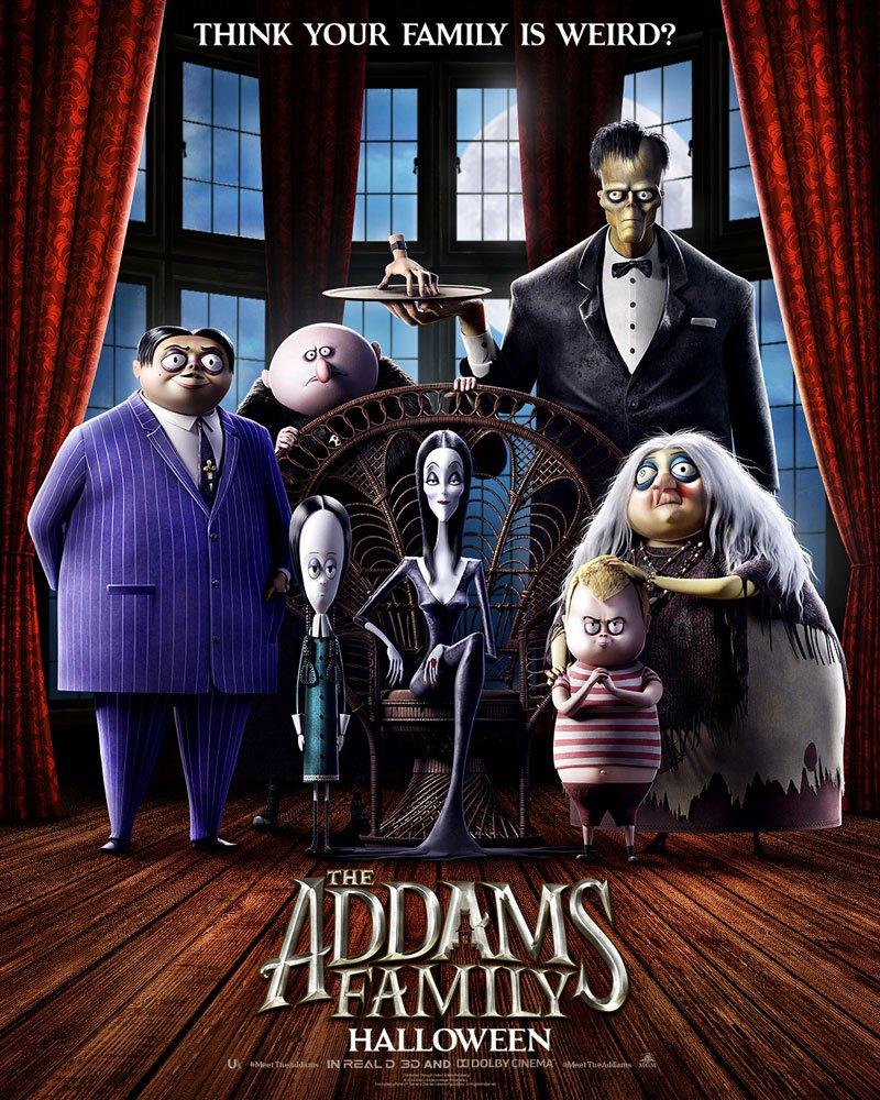 La Famiglia Addams Film Animato, Il Primo Poster Per Il