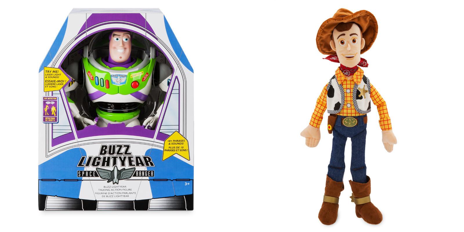 Toy Story 4 giocattoli, la collezione Disney Store dedicata al