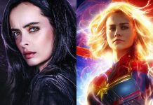 Jessica Jones Captain Marvel