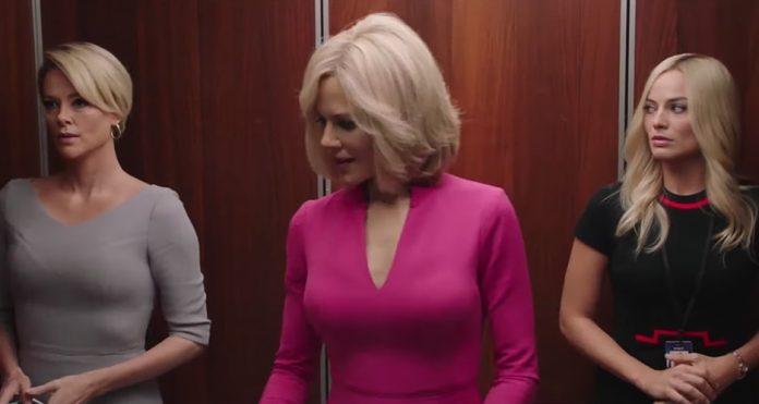 Bombshell: Margot Robbie, Charlize Theron e Nicole Kidman nel trailer