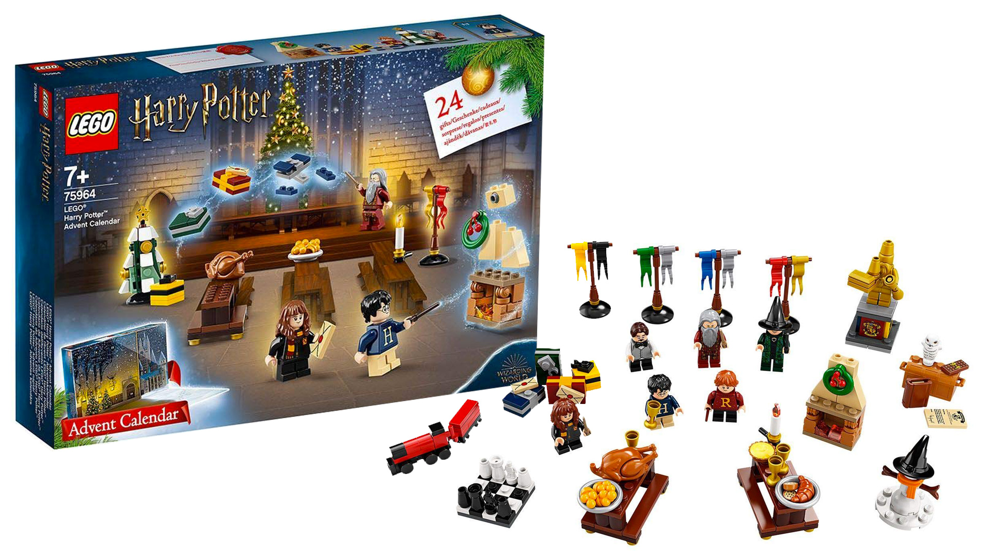LEGO Harry Potter, è arrivato il calendario dell'avvento ...