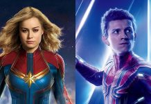 Captain Marvel e Spider-Man