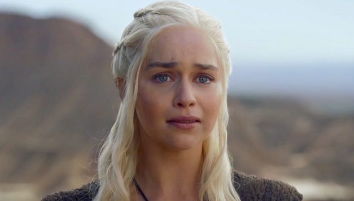 Emilia Clarke choc: