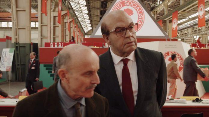 Il primo trailer di Hammamet, il biopic su Bettino Craxi