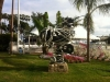 Cannes, scultura a forma di macchina da presa