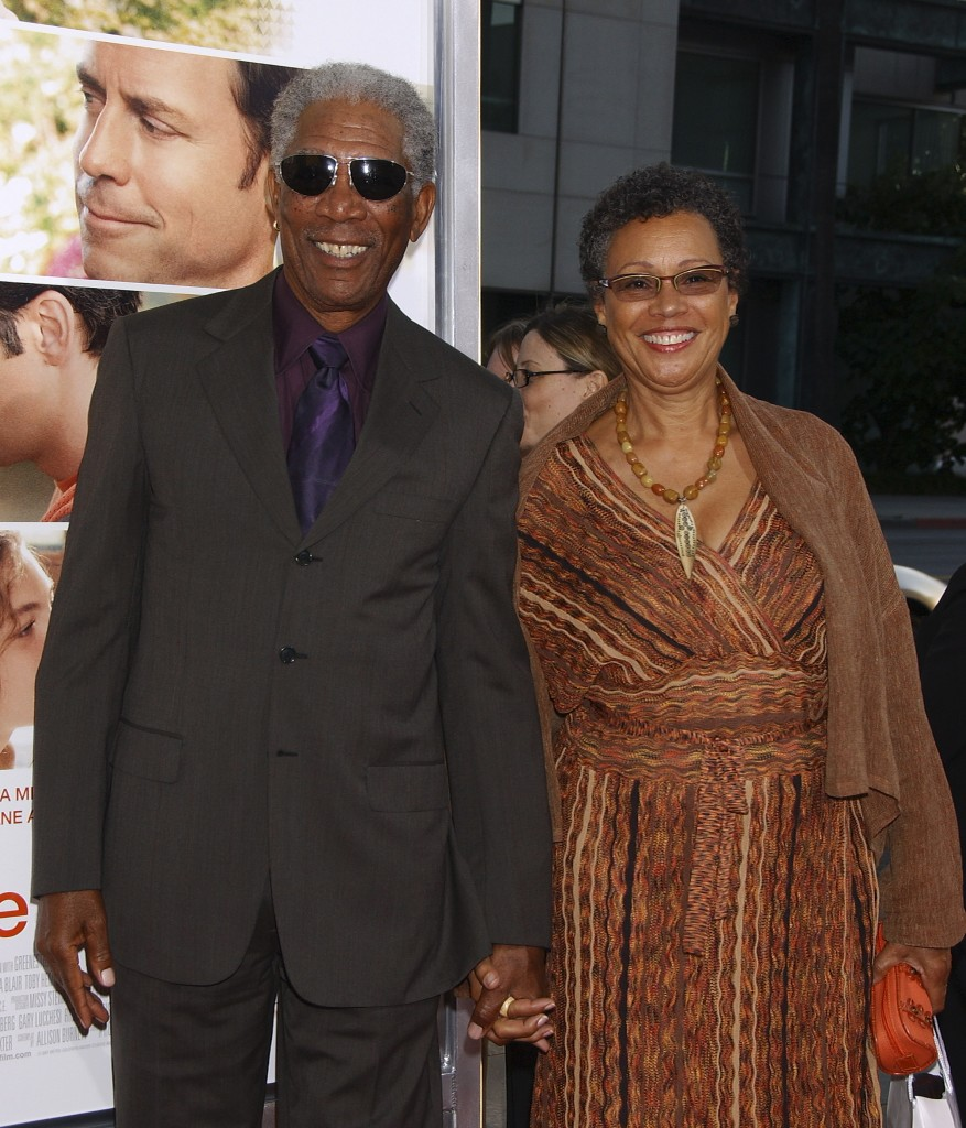 Morgan Freeman e la moglie Myrna Colley-Lee