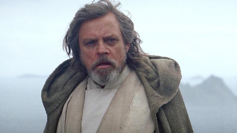 Mark Hamill è Luke Skywalker in Star Wars: Gli Ultimi Jedi