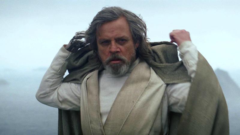 Mark Hamill in Star Wars: Gli Ultimi Jedi