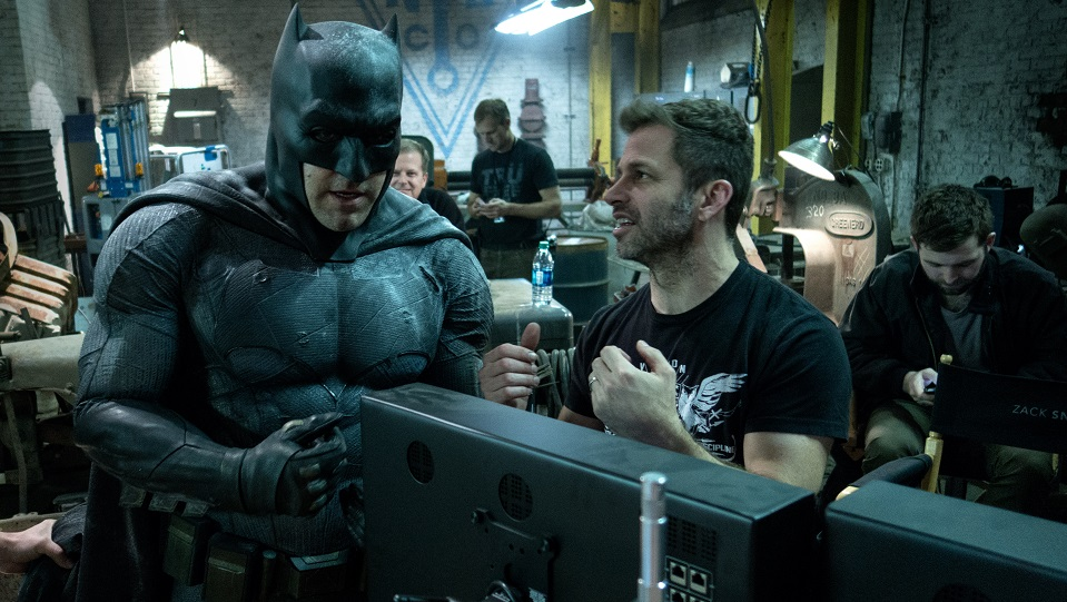 Zack Snyder sul set