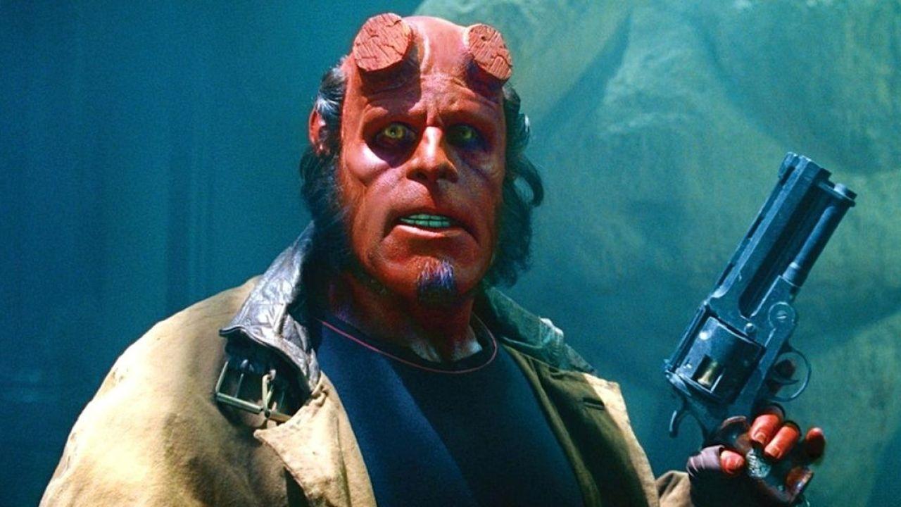 Il primo artwork del reboot di Hellboy