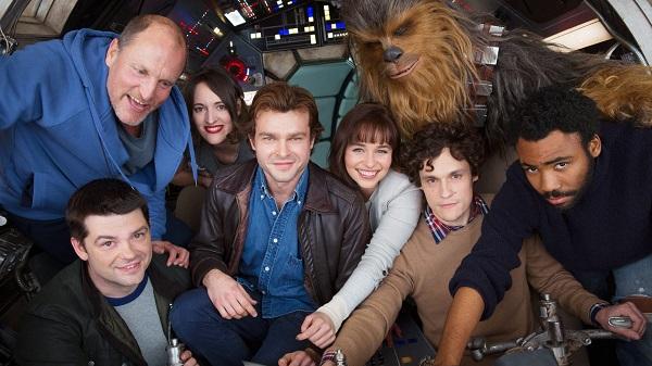 La prima foto del cast dello spin-off su Han Solo