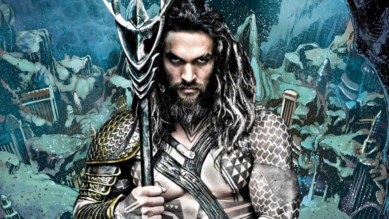 Jason Momoa è Aquaman nell'Universo DC della Warner Bros.