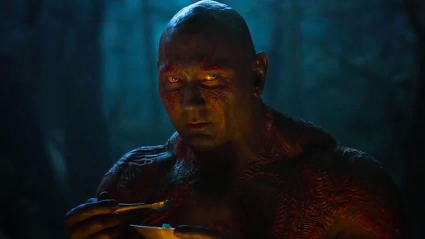 Drax in Guardiani della Galassia Vol. 2