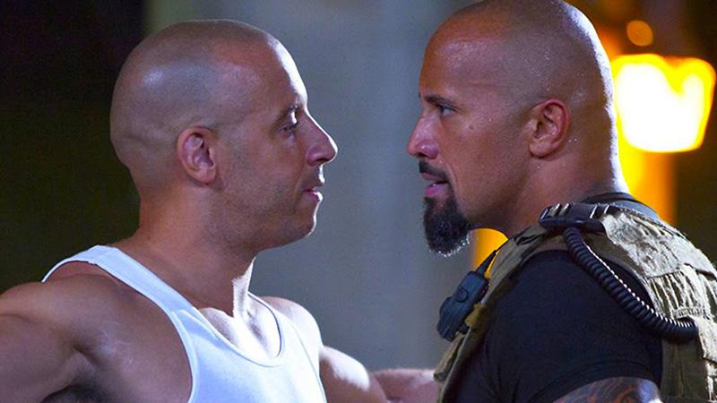 The Rock vs Vin Diesel: lite sul set di Fast & Furious 8