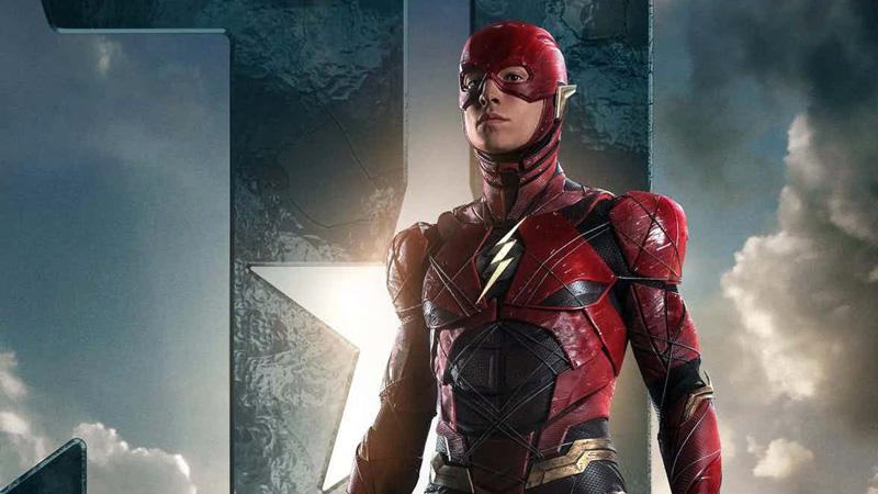 Ezra Miller è Flash in Justice League di Zack Snyder