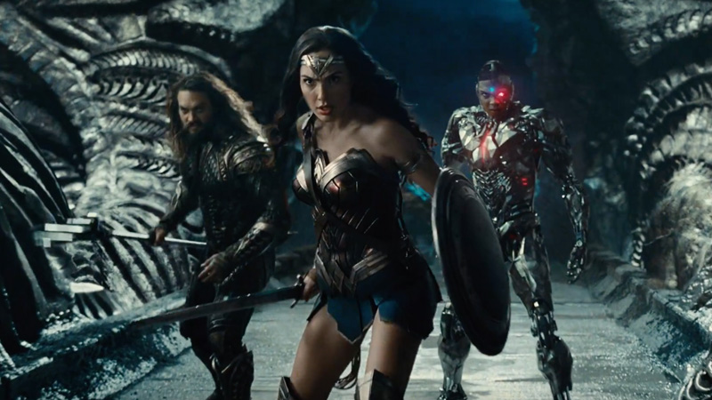 La gang al completo nel nuovo trailer di Justice League