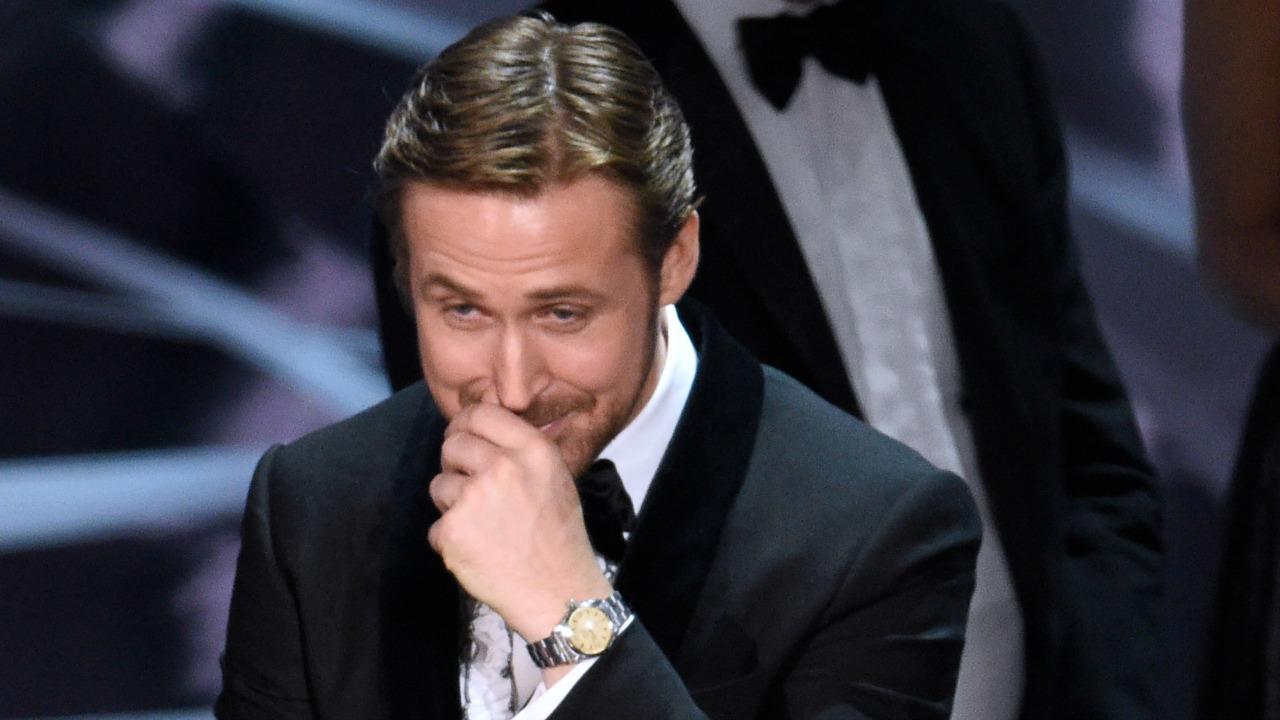 Ryan Gosling sul palco degli 89esimi Academy Awards