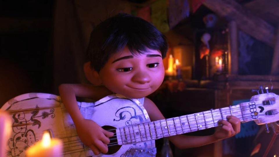 Il piccolo protagonista di Coco