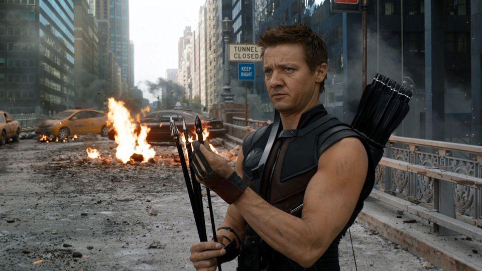 Avengers Occhio di Falco Jeremy Renner
