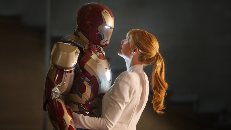 Pepper Potts e iron Man