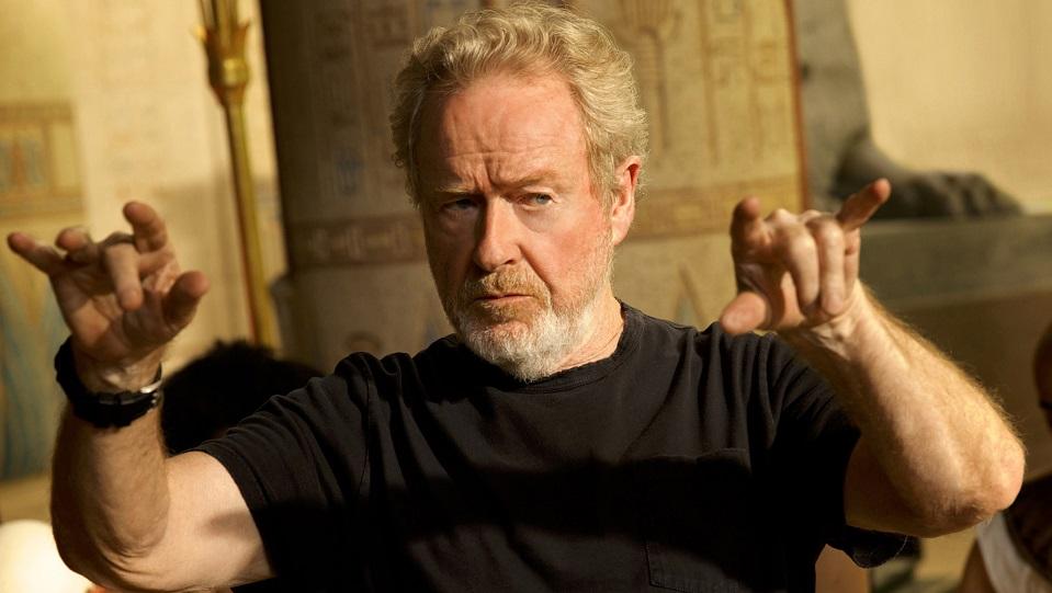 Ridley Scott in azione