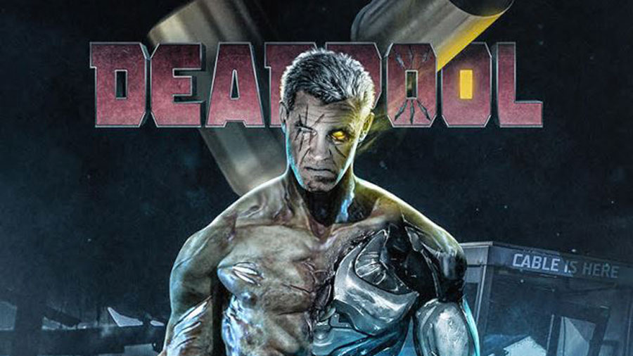 Fan Art di Josh Brolin nei panni di Cable