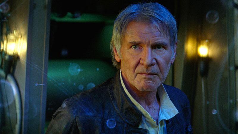 Harrison Ford in Star Wars: Il Risveglio della Forza