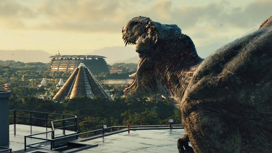 Svelato il banner di Jurassic World 2