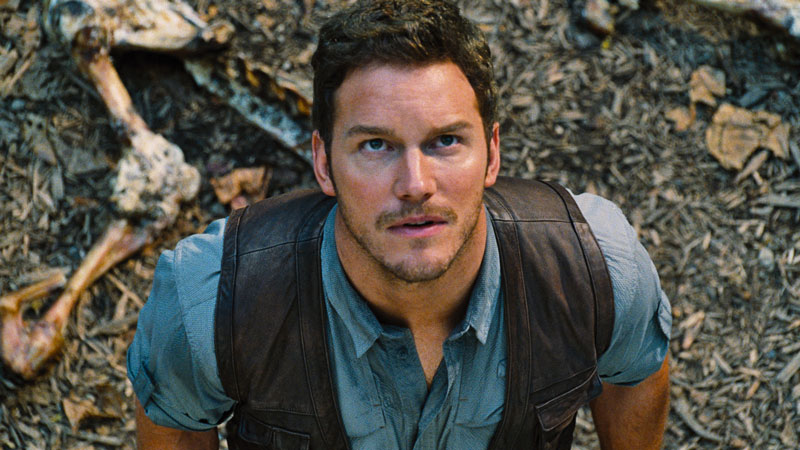 Chris Pratt in Jurassic World