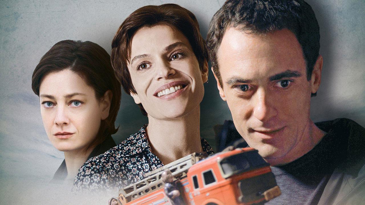 Giovanna Mezzogiorno, Micaela Ramazzotti ed Elio German nel poster de La tenerezza